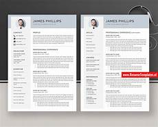 Curriculum Vitae Word Template Cv Template Resume Template For Ms Word Professional