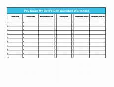 Snowball Debt Spreadsheet 38 Debt Snowball Spreadsheets Forms Amp Calculators