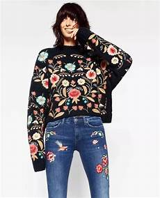 embroidery fashion 2018 heavy embroidery pullovers winter fashion