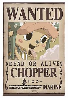One Piece Wanted Poster One Piece Wanted Chopper New Poster Impericon Com