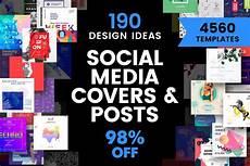 social media design templates social media cover amp post design templates bundle sale