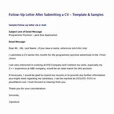 Resume Follow Up Letters Free 5 Sample Follow Up Emails In Pdf