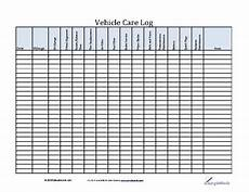 Vehicle Service Log 7 Best Images Of Vehicle Maintenance Check Off List