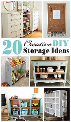 diy storage 20 creative diy storage ideas mostly repurposed or