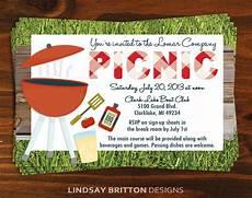 Family Picnic Invitation Family Or Company Picnic Invitation By