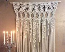 macrame anleitung macrame plain curtain shape horizontal vertical rs 300