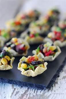 cowboy caviar cups an easy appetizer recipe eat it in