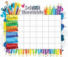 Make A Timetable For Me Create A Back To School Daily Schedule You Will Love