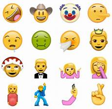 Iphone Emoji Pictures Copy And Paste How To Use 72 New Emoji Icons Right Now From Unicode 9