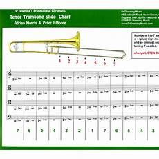 Tenor Chart Bb Tenor Trombone Chromatic Slide Chart
