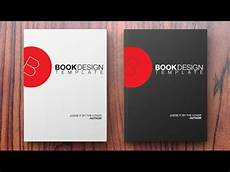Book Covers Design Templates How To Create A Book Design Template In Photoshop Youtube