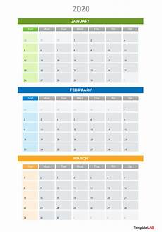Calendar Excel Template 2020 2020 Printable Calendars Monthly With Holidays Yearly