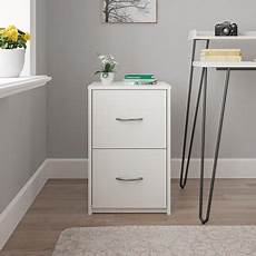 ameriwood home canal 2 drawer file cabinet white