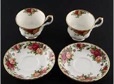 Royal Albert Tea Set   Bone China   Old Country Roses
