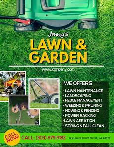 Landscape Flyer Template Lawn Service Flyer Template Postermywall