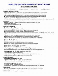 Resume O The Best Example Summary For Resume Resume Example