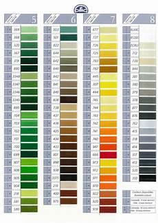 Dmc Rayon Floss Color Chart Dmc Color Chart χρώματα κεντήματα