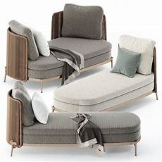 Sofa Style Daybed 3d Image by Cord Open Sofa And Daybed By Minotti 3d Model