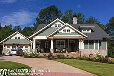 3 bedroom house plan with swing porch 16887wg
