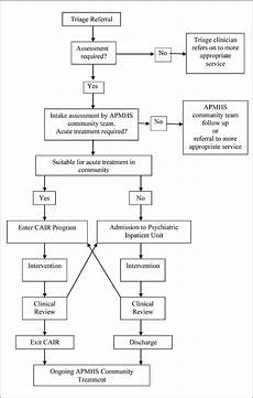 Mental Capacity Flow Chart Evaluation Of A Rural Based Community Aged Intensive