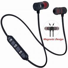 Bluetooth Professional Magnetic Wireless Earphone by 5 0 Bluetooth Earphone Sports Neckband Magnetic Wireless