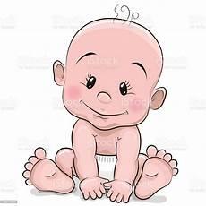 Baby Cartoons Free Cute Cartoon Baby Boy Stock Illustration Download Image