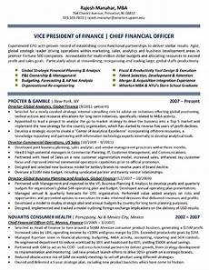Chief Financial Officer Resume Download Chief Financial Officer Resume Sample For Free