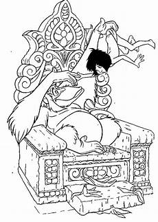 jungle book coloring pages to and print for free