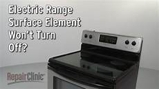 How To Light Electric Stove Surface Element Won T Turn Off Range Troubleshooting