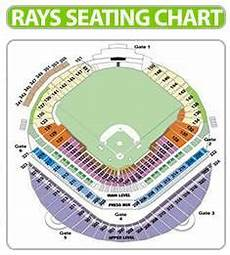 Rays Seating Chart Tropicana Field Tampa Bay Rays Seating Chart Rays Seat Chart View