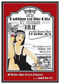 1920s Invitation Template Free Roaring Twenties Party Ideas Roaring 20s Printable Party
