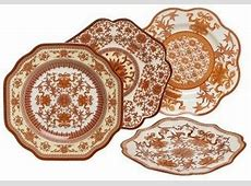 Discontinued Spode Indian Red Dinnerware