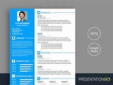 Powerpoint Designer Resume Free Resume Powerpoint Templates Presentationgo Com