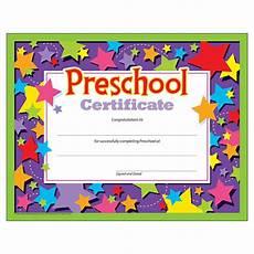 Preschool Graduation Certificates Preschool Graduation Certificate 30 Count Ctt Graphics