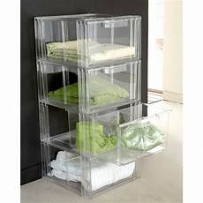 stackable drawers for clothes acrylic stackable storage drawers clear in 2020 clothes