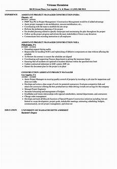 Project Manager Construction Resume Construction Administrative Assistant Resume Inspirational