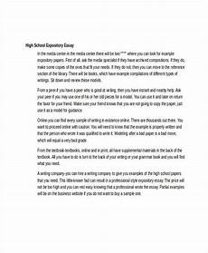 Easy Expository Essay Topics Free 6 Expository Essay Examples Amp Samples In Doc Examples