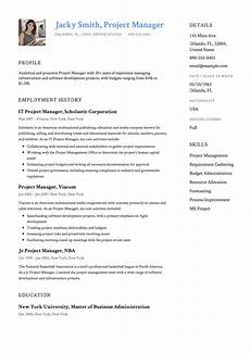 Examples Of Project Management Resumes Project Manager Resume Amp Full Guide 12 Examples Word