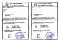 doc contoh surat undangan rapat rutin karang taruna docx