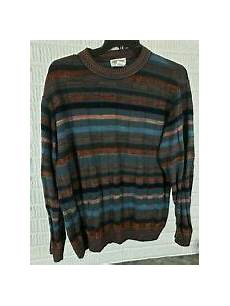 Norm Thompson Size Chart Norm Thompson Men S Wool Blend Sweater Made In Italy Size