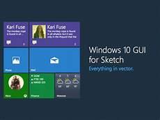 Apple Design Resources For Windows Windows 10 Ui Kit Sketch Freebie Download Free Resource