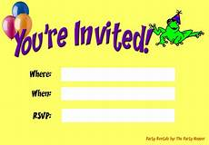 You Re Invited Templates Party Invitations