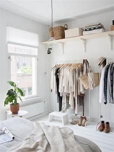 12 no closet clothes storage ideas room makeovers to