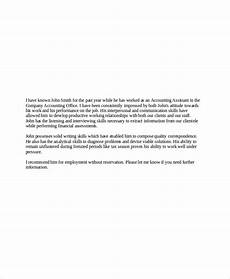 Letter Of Recommendation From Former Employer Free 6 Sample Employer Recommendation Letter Templates In