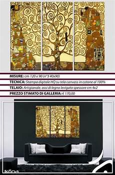 quadri moderni per arredamento da letto quadri moderni arredo klimt 3pz albero della vita