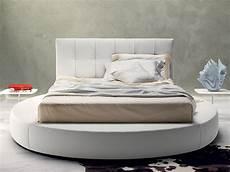 da letto con letto rotondo letto rotondo bianco arredamento mobili arredissima