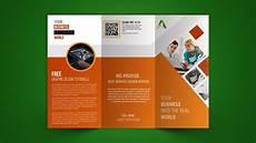 Business Brochure Business Tri Fold Brochure Design Photoshop Tutorial