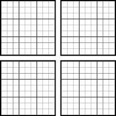 Sudoku Printable Grids Sudoku Template Blank Sudoku Grid Template 600 600