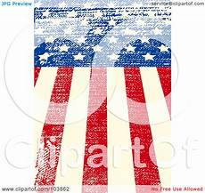 American Flag Watermarks Royalty Free Rf Clipart Illustration Of A Grungy