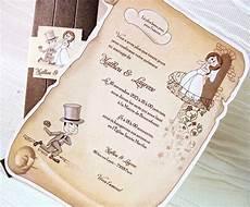 invitaciones de boda invitaciones boda pergamino para ver desde el celular e